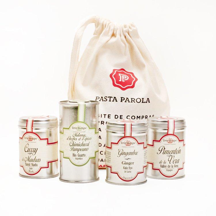 Kit Especiarias Terre Exotique Pasta Parola