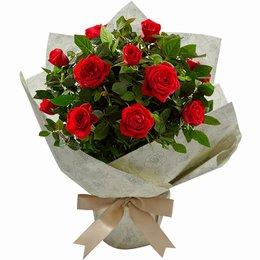 Mini Rosa Plantada Para Dizer Que Te Adoro