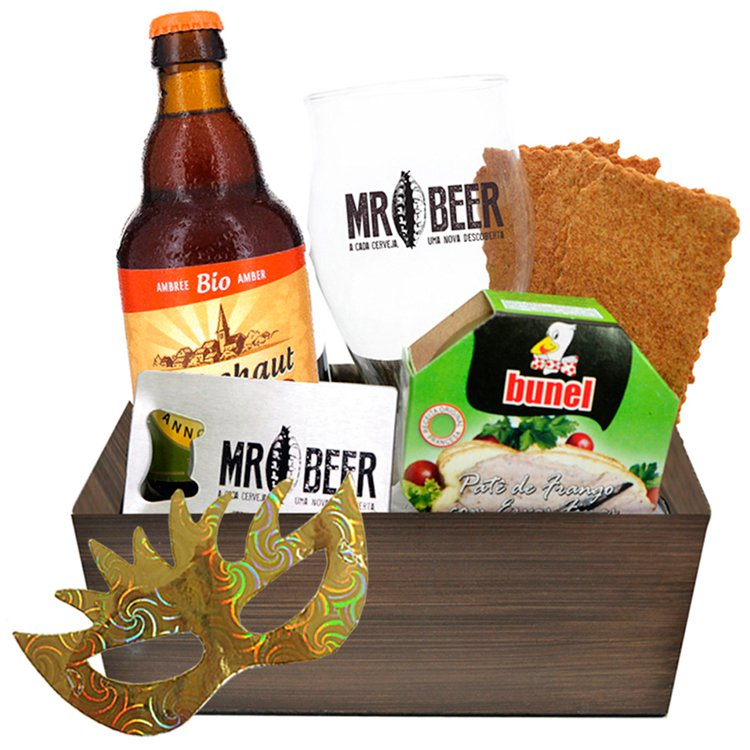 Kit Perfeito Bio Amber MR Beer Carnaval