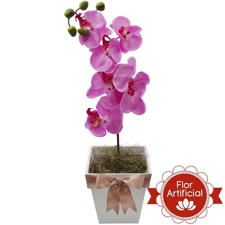 Deslumbrante Orquídea Pink Artificial