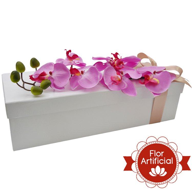 Paixão de Orquídea Pink Artificial