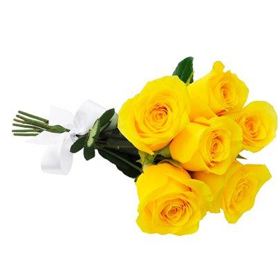 Buquê De Rosas Amarelas Giuliana Flores