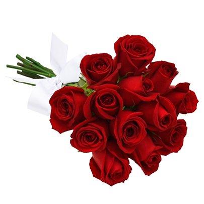 Presente Para Dia Dos Namorados Buquê 12 Rosas Vermelhas
