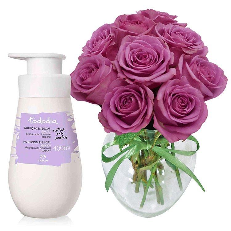 Kit Natura Tododia com Rosas
