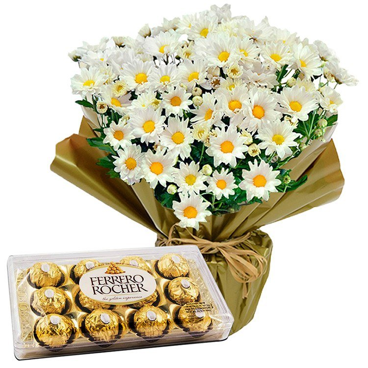 Margaridinhas e Ferrero Rocher