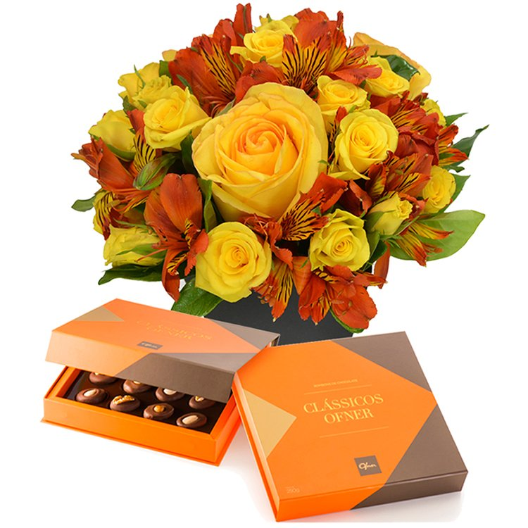 Segredo da Flor Orange & Chocolate Classicos Ofner