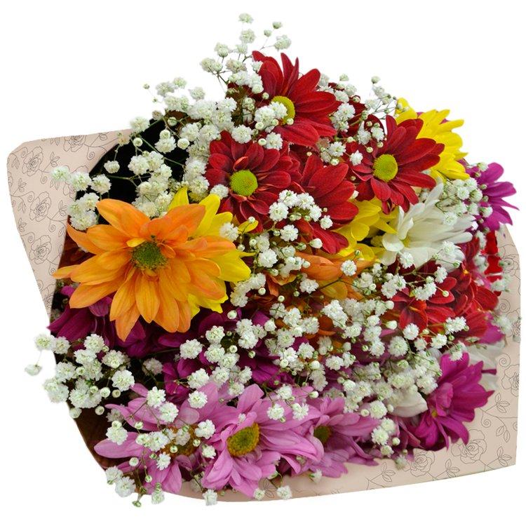 Buquê Partitura Premium Flores do Campo