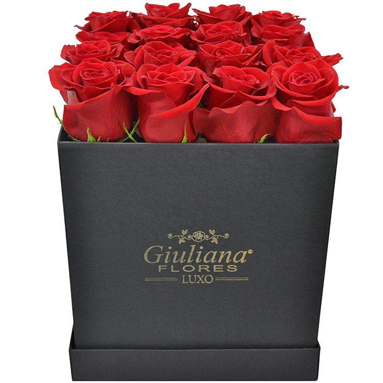 Sublime Premium de Rosas Vermelhas Black