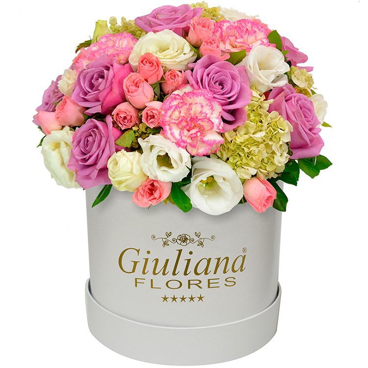 Majestoso Mix de Flores Rosê White