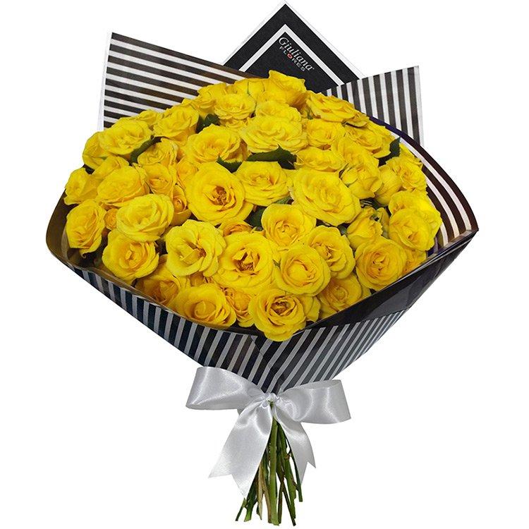Buquê Luxo Amarela