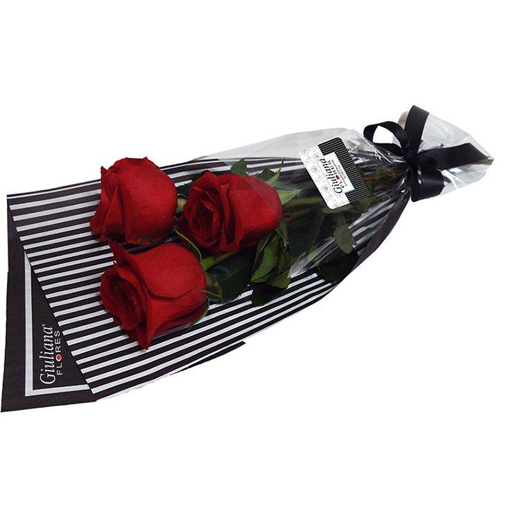 Presente de Rosas Vermelhas Giuliana Flores