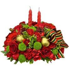 Arranjo de flores Harmonia do Natal