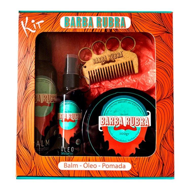 Kit Barba Rubra Para Homem