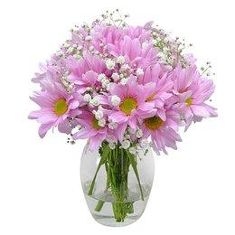 Delicado Mix de Flores Silvestres Cor Rosa