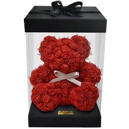 Teddy Flowers Red