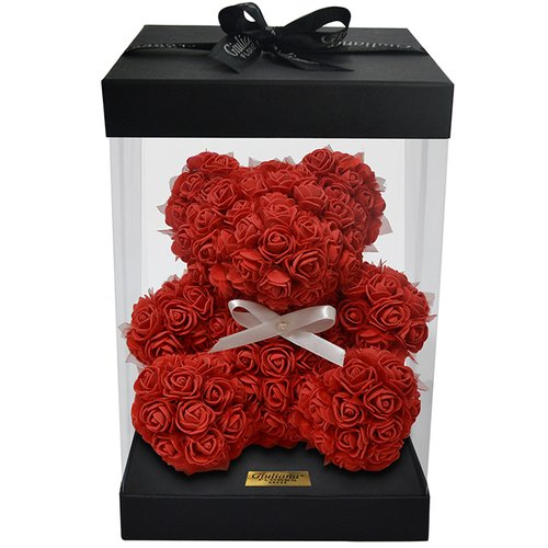 Teddy Flowers Red