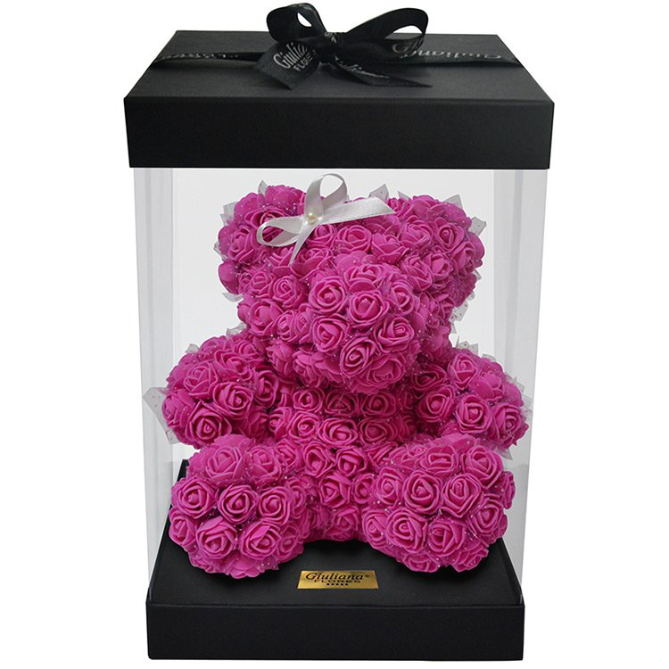 Teddy Flowers Pink