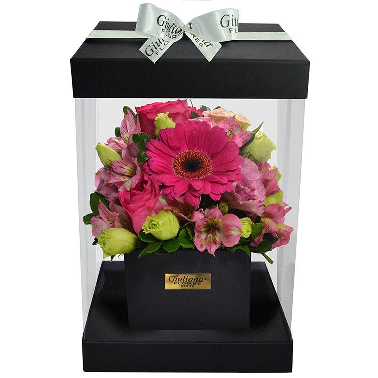 Flower Box Lilás