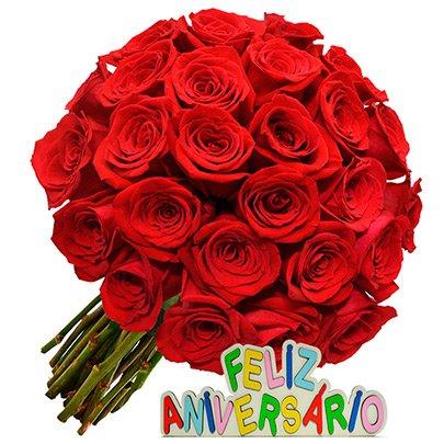 espetáculo de rosas feliz aniversário giuliana flores
