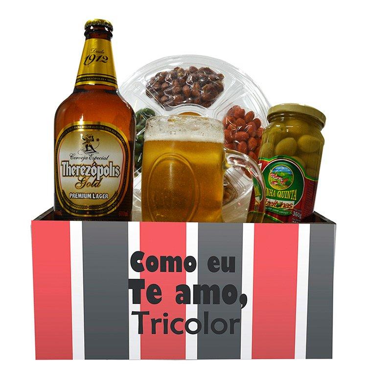 Kit Torcedor Tricolor Petiscos