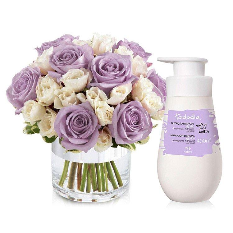 Kit Mix de Rosas Beleza Feminina
