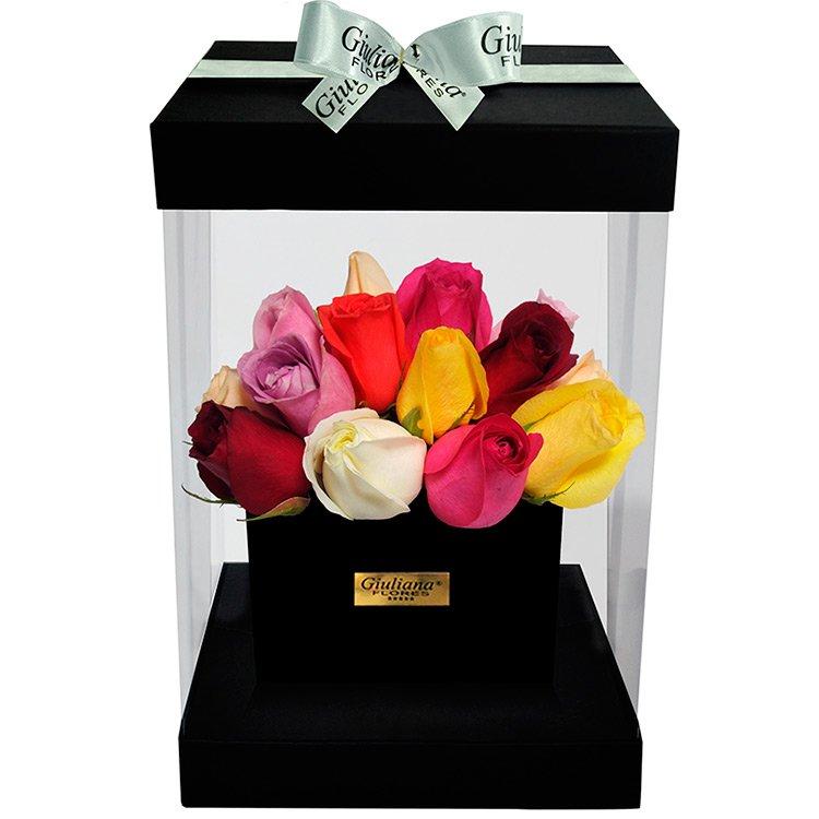 Flower Box Mix Rosas