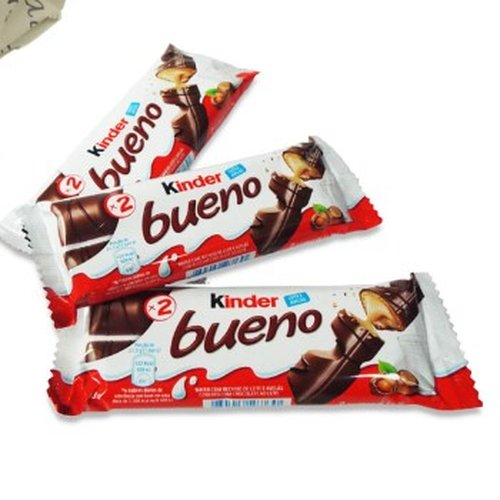 Mini Vaso de Margaridinhas com 03 Chocolates Kinder Bueno