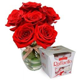 Surpresa de Rosas Colombianas e Rafaello