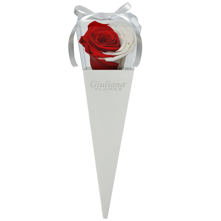 Cone Branco de Rosa Encantada Red Moon