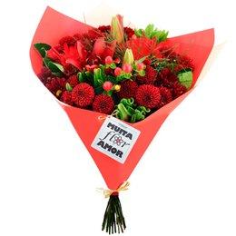 Buquê de Mix de Flores Muita Flor com Amor