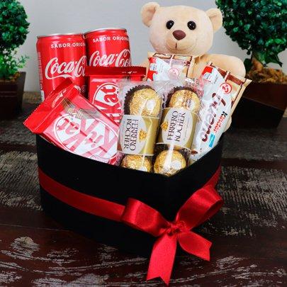 Cesta de Chocolates para o Dia das Crianças