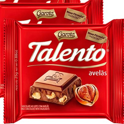 Kit de Chocolate Avelã Talento 90g