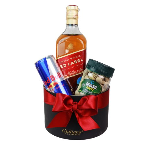 Kit Whisky Johnnie Walker Red Label