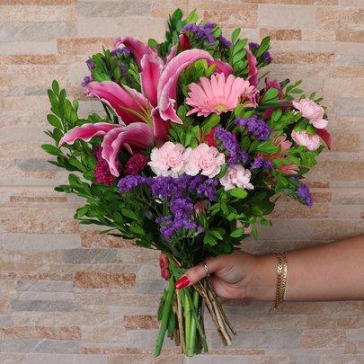 Ramalhete de Mix de Flores Colorir
