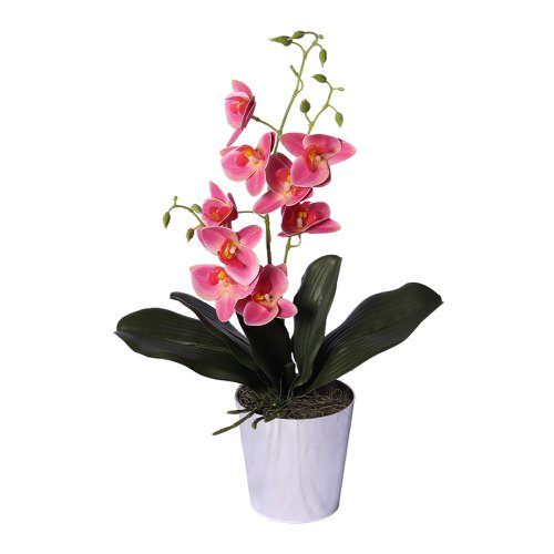 Mini Orquídea Rosa Artificial