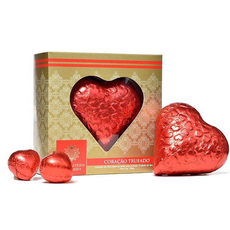 Coração Trufado Chocolateria Brasileira