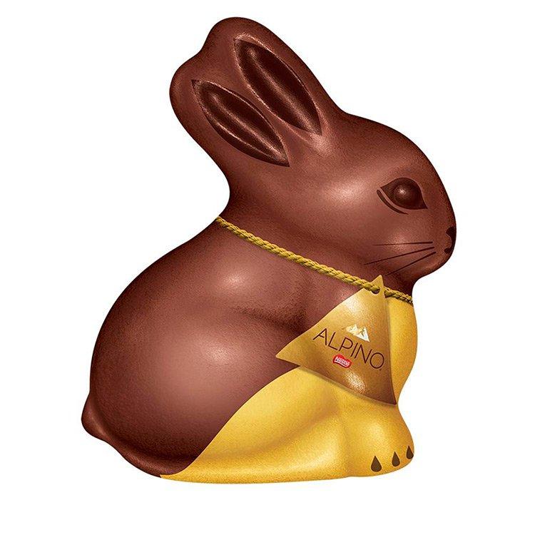 Coelho de chocolate Nestlé Alpino 60g