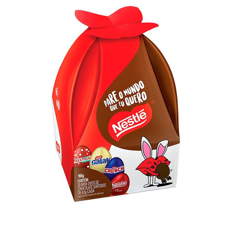 Mini Ovos de Páscoa Nestlé 90g
