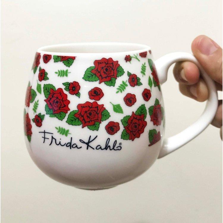 Caneca Frida Kahlo Flowers