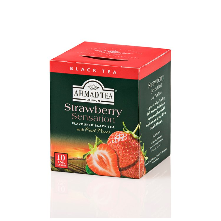Chá Ahmad Tea Strawberry Sensation 20g