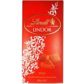 Tablete de Chocolate Lindor Milk Lindt 100g