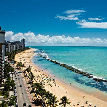 Foto da Praia de Boa Viagem - Recife