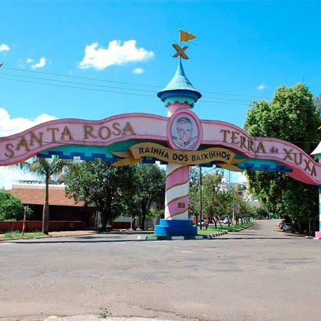 Portal em homenagem para Xuxa