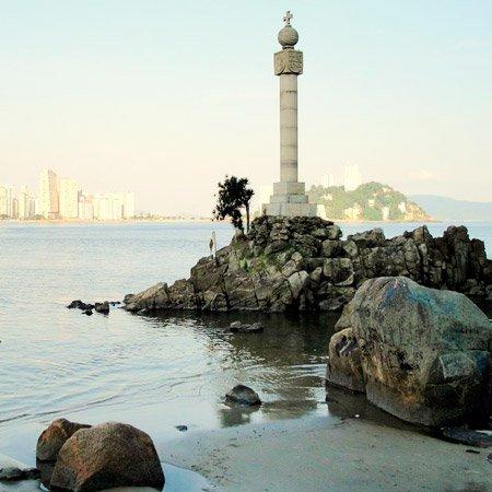 Foto do Marco de São Vicente